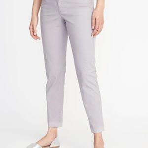 Old Navy Pixie Pants Light Gray Size 8 EUC